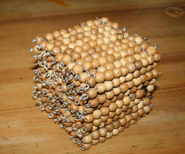 Perle dorate Montessori presentazione e tutorial per costruirle in proprio 48