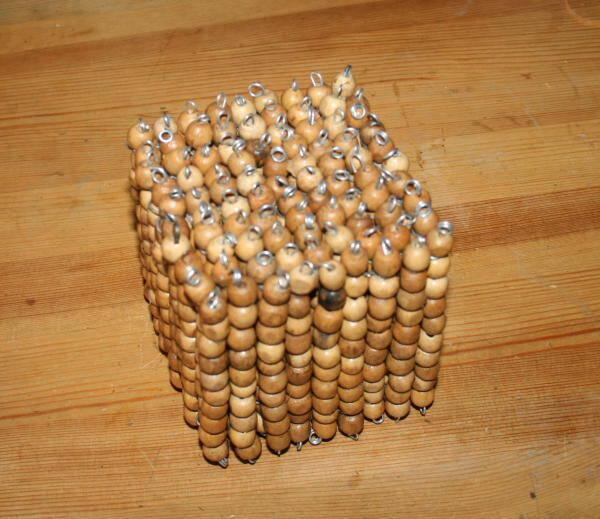 Perle dorate Montessori presentazione e tutorial per costruirle in proprio 50