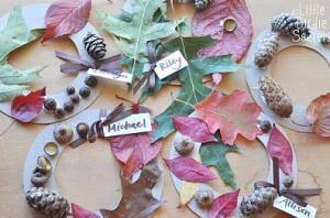 lavoretti per l'autunno 110 e più progetti creativi da realizzare coi bambini ghirlande