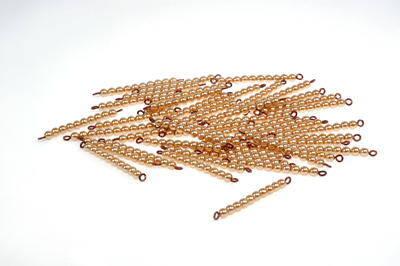 Le perle dorate Montessori e il sistema decimale