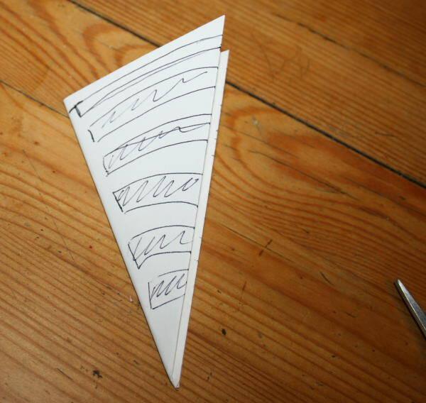 ragnatela di carta ritagliata 8