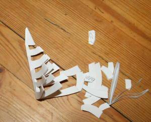ragnatela di carta ritagliata 9