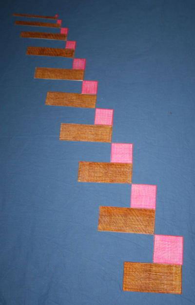 Scala marrone e torre rosa estensioni torre-e-scala111