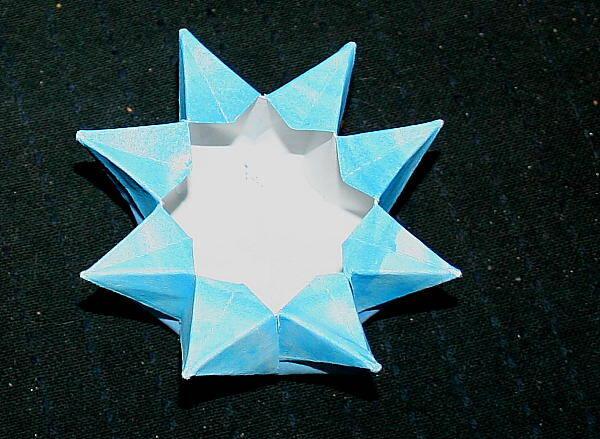 lanterna di carta a stella