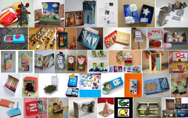 Lavoretti con le scatole di fiammiferi – 150 e più progetti