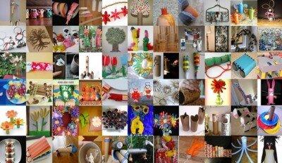 Ricicliamo i rotoli di carta igienica: 101 (e più) progetti