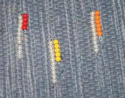 Esercizi con le perle colorate Montessori images-23