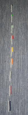 Esercizi con le perle colorate Montessori images-25