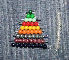 Esercizi con le perle colorate Montessori images-38