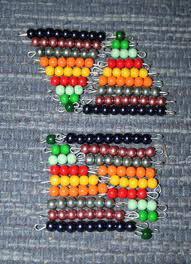 Esercizi con le perle colorate Montessori images-421