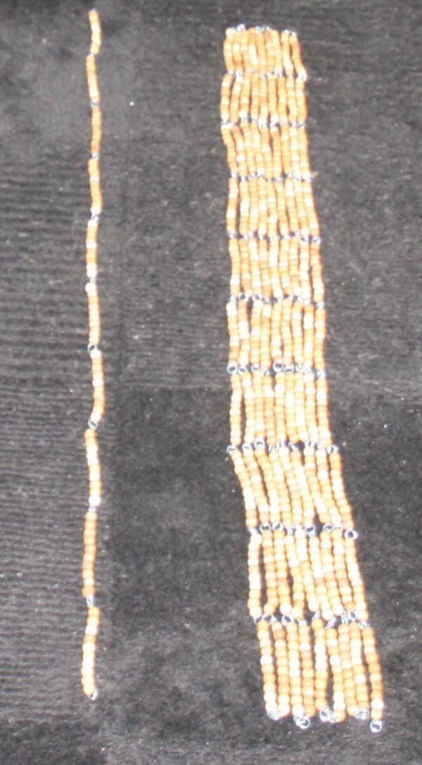 catene di perle Montessori 55