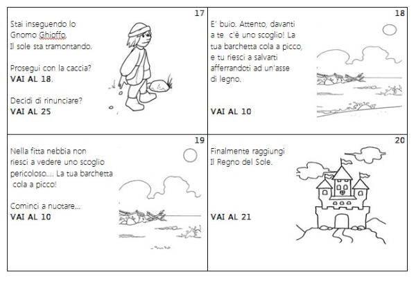 gioco di lettura 16