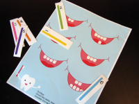 Teaching Dental Care - a collection of 40 or more ideas and activities