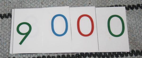psicoaritmetica Montessori 90