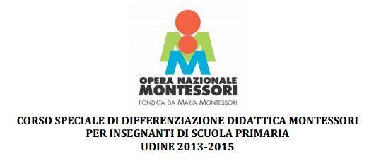 Corso Montessori 6 – 11 anni a Udine