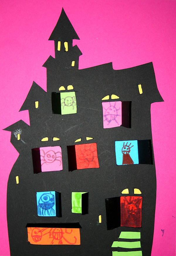 Castello dei mostri per Halloween