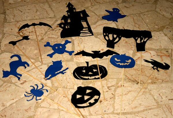 Lavoretti per Halloween TEATRINO DELLE OMBRE