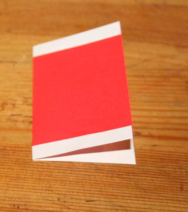 Babbo Natale origami 11