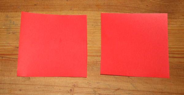 Babbo Natale origami 1