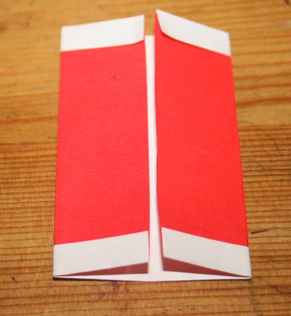 Babbo Natale origami 14