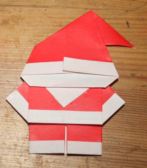 Babbo Natale Lavoretti.Lavoretti Per Natale Babbo Natale Origami Lapappadolce