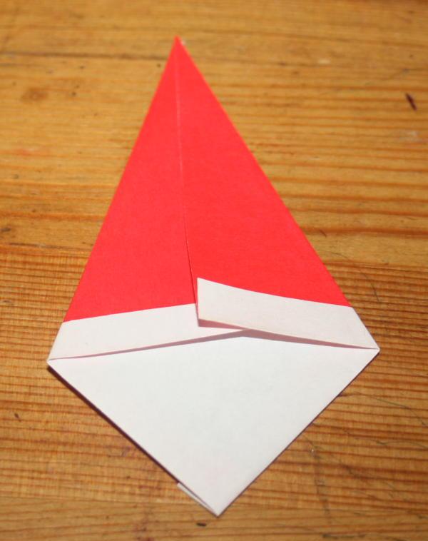 Babbo Natale origami 4