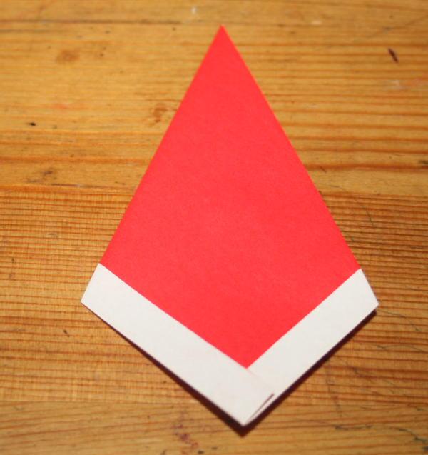 Babbo Natale origami 5