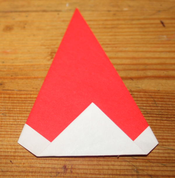 Babbo Natale origami 6