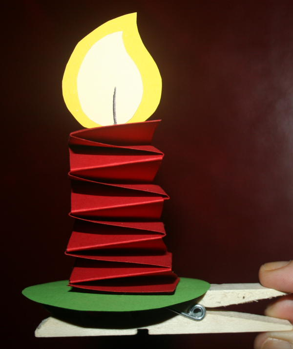 candelina con molletta 2