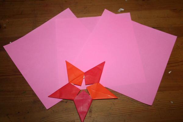 stella origami a 5 punte 1