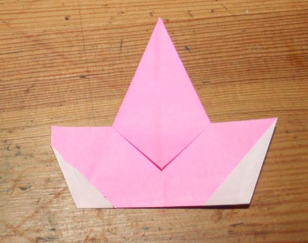 stella origami a 5 punte 16