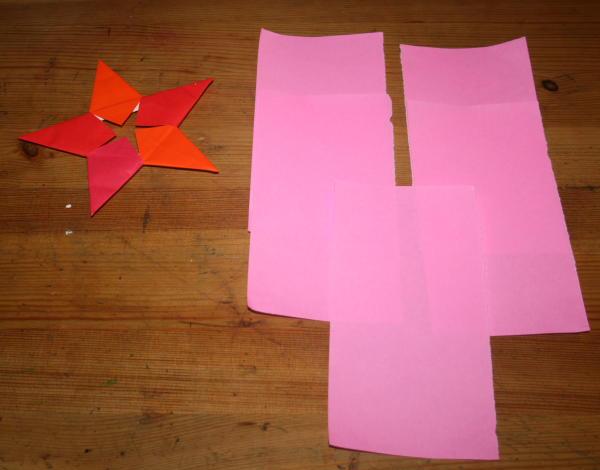 stella origami a 5 punte 2