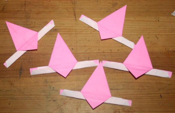 stella origami a 5 punte 21