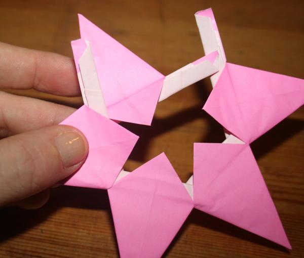 stella origami a 5 punte 27