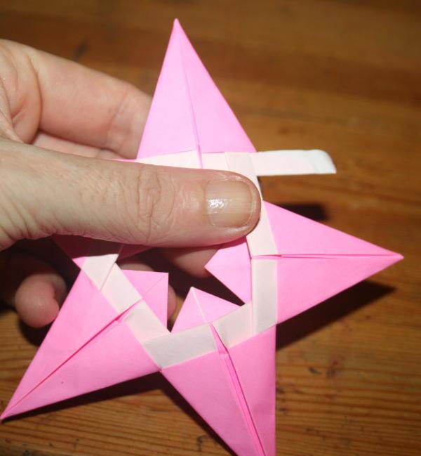stella origami a 5 punte 28