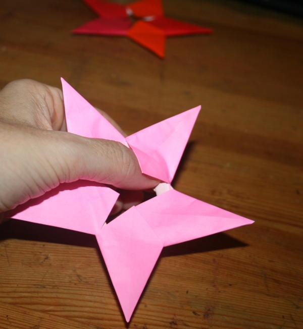 stella origami a 5 punte 29