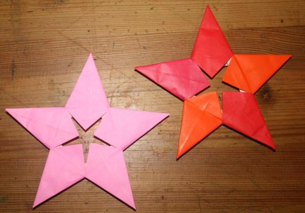 Decorazioni natalizie stella origami a 5 punte for Youtube decorazioni natalizie