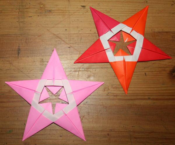 stella origami a 5 punte 31