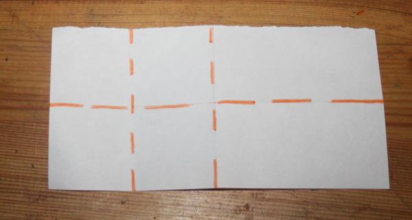 stella origami a 5 punte 5