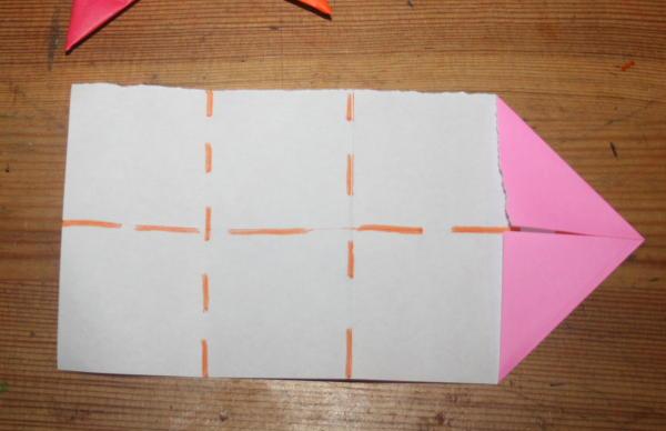 stella origami a 5 punte 6