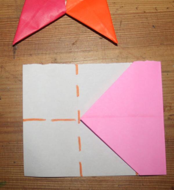 stella origami a 5 punte 8