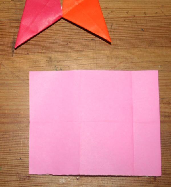 stella origami a 5 punte 9
