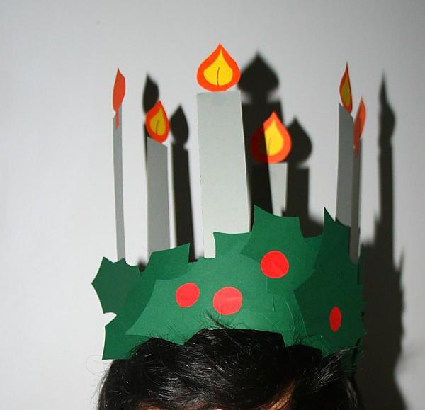 corona per santa Lucia 6