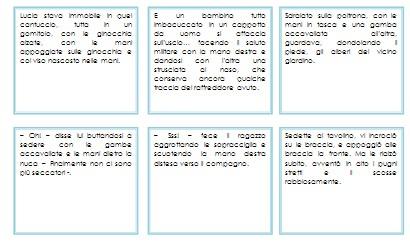 La pratica della lettura secondo il metodo Montessori I COMANDI