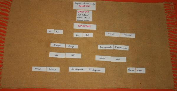 omofoni Montessori 7