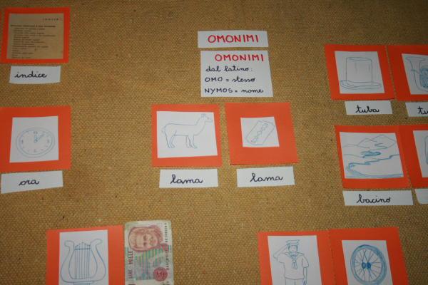 omonimi Montessori 15