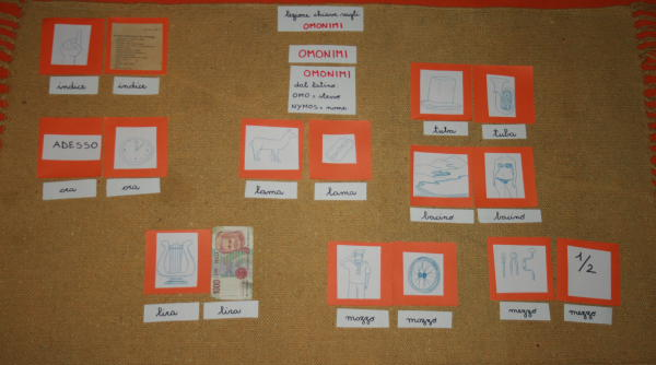omonimi Montessori 16