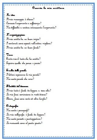 Schede per i primi esercizi di composizione in prosa
