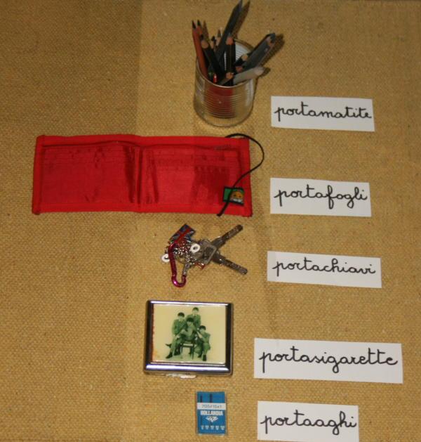 parole composte Montessori 1