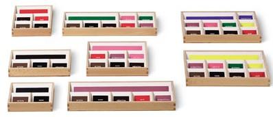 scatole grammaticali Montessori